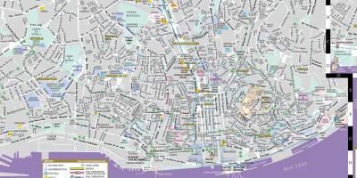 Lissabonin Belem Kartta Kartta Belem Lissabon Portugali